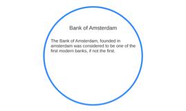 Bank of Amsterdam