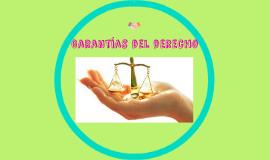 Garantías del derecho