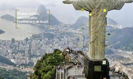 División Política, Administrativa y Económica de Brasil