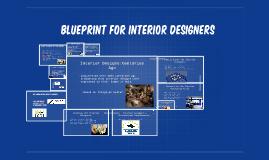 Blueprint for interior designers