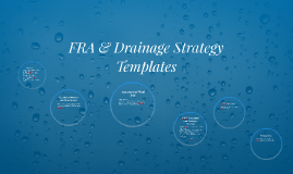 FRA & Drainage Strategy Templates