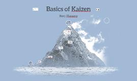 Kaizen Basics