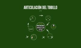 Copy of Copy of ARTICULACIÓN DEL TOBILLO