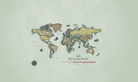 Globalization & Multidisciplinarity