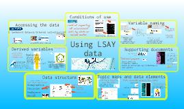 Using LSAY data
