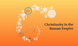Copy of Christianity in the Roman Empire