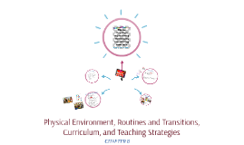 Physical Environment, Routines and Transitions, Curriculum,