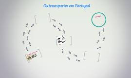 Os transportes em Portugal