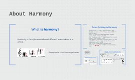 About Harmony