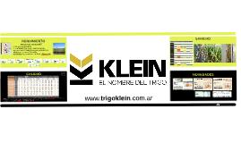KLEIN - NOVEDADES 2016