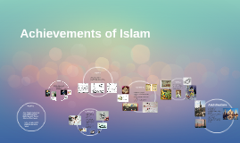 Achievements of Islam