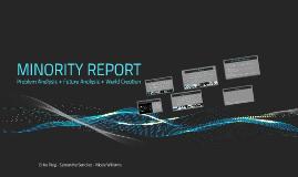 Copy of MINORITY REPORT