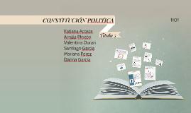 Copy of CONSTITUCIÓN POLITICA