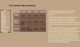 Copy of 407 periodic table lab activity by jaida abbas on prezi urtaz Image collections