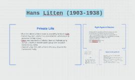 Hans Litten (1903-1938)