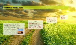 Copy of Desierto del Sahara
