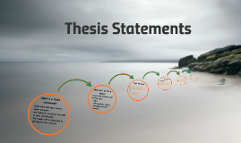 1A Thesis Statements