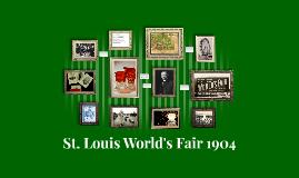 St. Louis World's Fair 1904