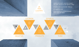 Business Template Triangles by Maggie Lu