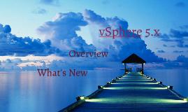 VMware vSphere 5.x