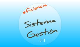 Sistema Gestión