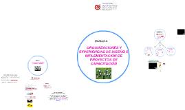 Unidad 4. ORGANIZACIONES Y