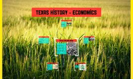 Texas History - Economics