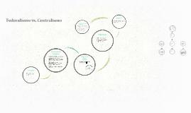 Copy of Federalismo vs. Centralismo