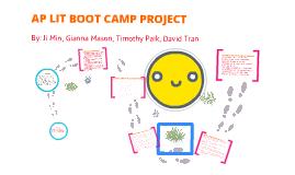 Copy of AP Lit Boot Camp