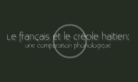 Les voyelles du français et du créole haïtien
