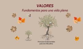 Copy of Los Valores