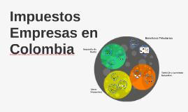 Impuestos Empresas en Colombia