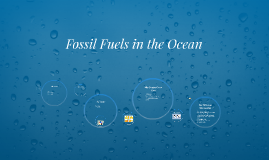 Fossil Fuels in the Ocean