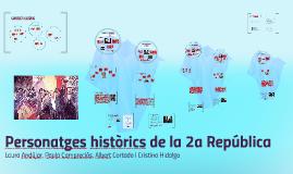 Personatges històrics 2a República