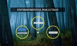 Copy of Copy of ENVIRONMENTAL POLLUTION