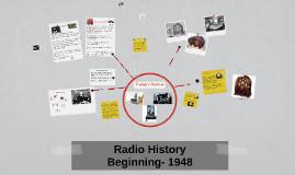 Copy of Radio History
