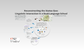 Reconstructing the Status Quo: Linguistic Interaction in a Dual-Language School