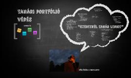 Copy of tanári portfólió védés