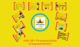 IND 301 Presentation
