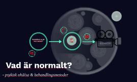 Vad är normalt?