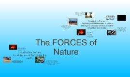 Copy of Constructive and Destructive Forces
