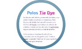 Polos Tie Dye