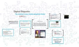 Digital Etiquette: