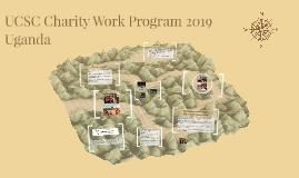 UCSC Charity Work Program