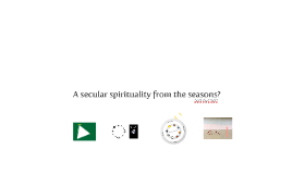 Vernal equinox: A secular spirituality from the seasons?