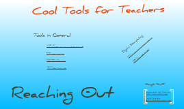 Fun tools for school