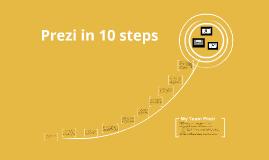 Prezi in 10 steps