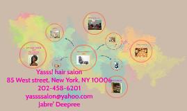 Yasss! hair salon