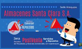 Almacenes Santa Clara Presentacion Primer Cuatrimestre Post-Venta AQP