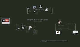 Modern Period 1901-1945